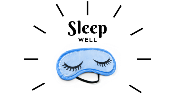happy sleep mask